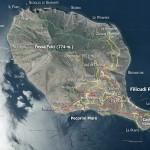 Mappa di Filicudi, isole Eolie - Italia